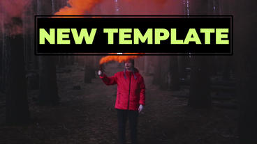 Freeze Frame&RGB Transitions Premiere Pro Template