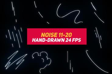Liquid Elements 3 Noise 11-20 After Effectsテンプレート