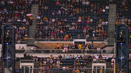 4K PNC Park Sports Fans Cheering and Clapping Footage