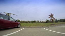 4K POV Parking Space Footage