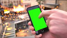 Green Screen Smartphone in Hollywood Footage