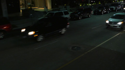Los Angeles Night Driving Footage