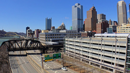 Pittsburgh City Establishing Shot Day Footage