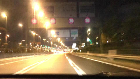 time-lapse in traffic at highway 영상물