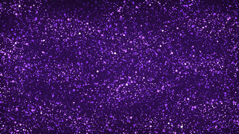 Purple Glitter Particles Background Animation