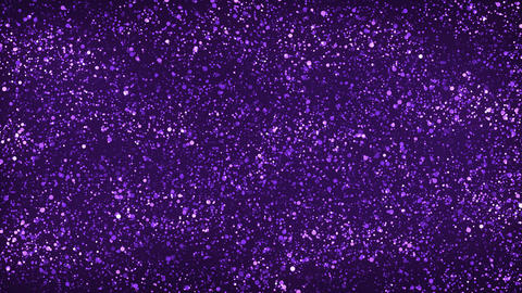 Purple Glitter Particles Background Stock Video Footage