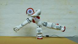 Humanoid Robot Footage