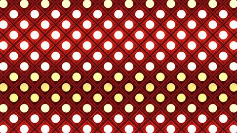 Lights flashing wall bulbs rhombus pattern static flash… Stock Video Footage