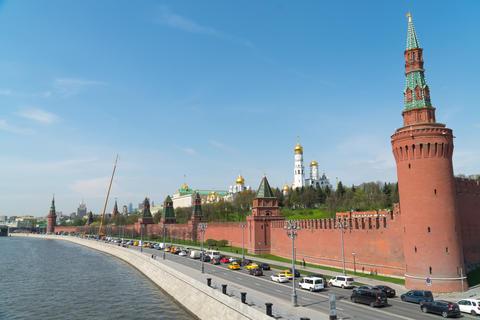 Kremlin, Moscow. Grand Kremlin palace. Ivan The Great Bell Tower. Archangel Fotografía