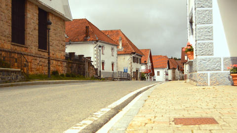 European Town In The North Cozy Houses 영상물