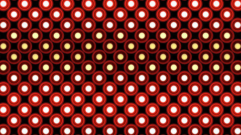 Lights flashing wall bulbs round pattern static flash up…, Stock Animation