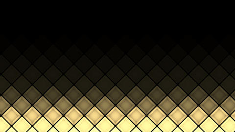 Lights flashing wall bulbs cubes pattern static flash up... Stock Video Footage