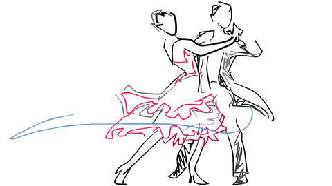 Social dance Animation