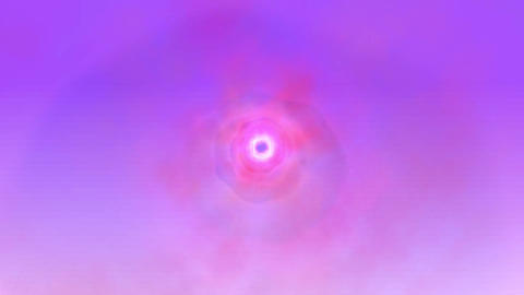 Purple Cloud Tunnel Animation