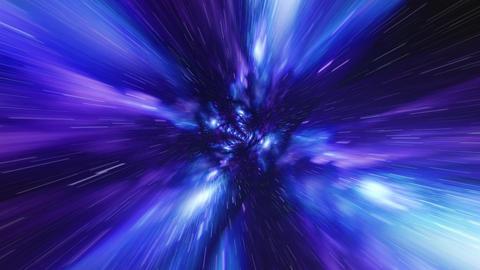 VJ Loop Time vortex tunnel background ภาพวิดีโอ