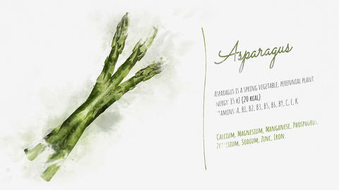 Useful properties of Asparagus Animation