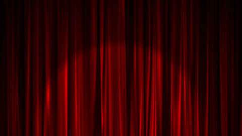 Curtain with Light Spot Stock Video Footage