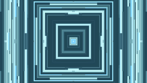 Abstract Squared Frames Loop Animation