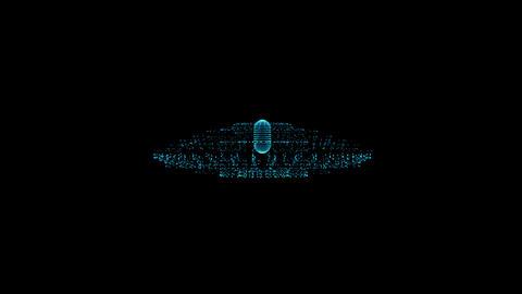 UFO hologram GIF