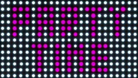 Party Time Disco Spots Loop Animation