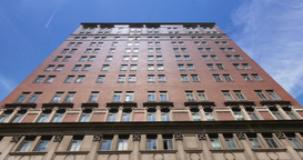 Office Building or Condo Tilt Up Establishing Shot Footage