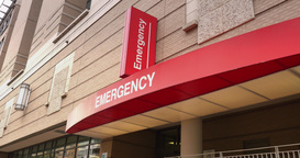 Generic Hospital Emergency Room Establishing Shot Footage