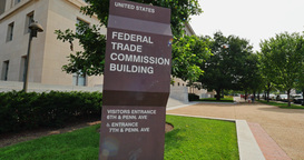 Federal Trade Commission FTC Building Establishing Shot Footage