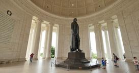 Inside the Jefferson Memorial Footage