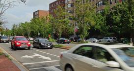 Typical Washington DC Rush Hour Traffic Footage