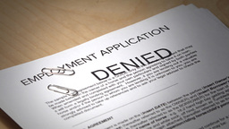 Employment Contract is Denied Footage