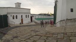 National Kyiv-Pechersk Historical and Cultural Preserve Establishing Shot Footage