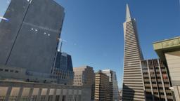 San Francisco Skyline Establishing Shot Footage