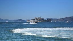 Alcatraz Island Day Establishing Shot Footage