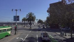 Driving POV San Francisco The Embarcadero Footage
