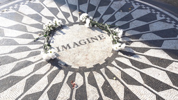 Strawberry Fields Memorial Establishing Shot Footage