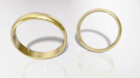 Gold Ring A Stock Video Footage
