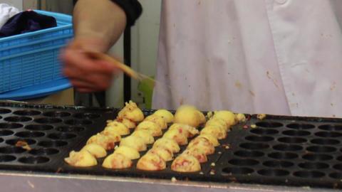 Takoyaki Footage