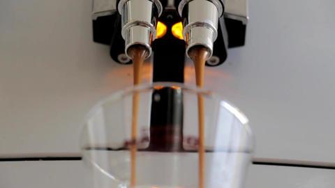 Coffee jet espresso Footage