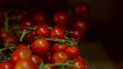 Tomatoes red vegetables fruit food Footage