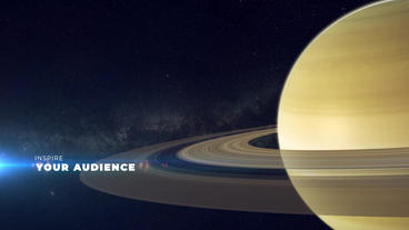 Solar System After Effects Template