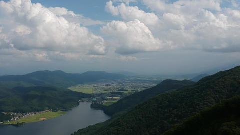 小熊山から見た木崎湖 ビデオ