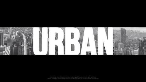 Urban Hip-Hop Opener PP Premiere Proテンプレート