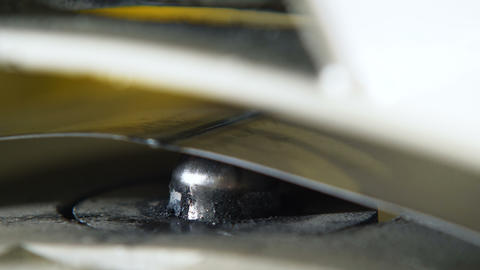 close view appliance prepares metal for batteries production Live Action