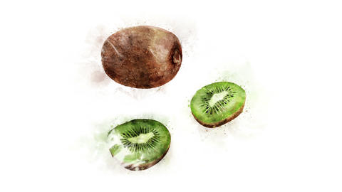 Separate elements of kiwi Animation