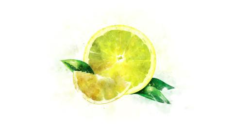 Animated image of lemon Animation