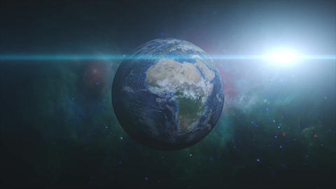 Earth・地球 HD 01 CG動画素材