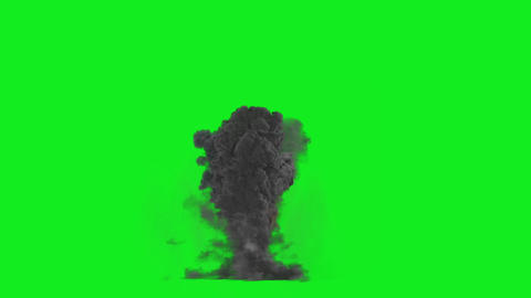 Big Explosion(Green Back) HD 01 Animation