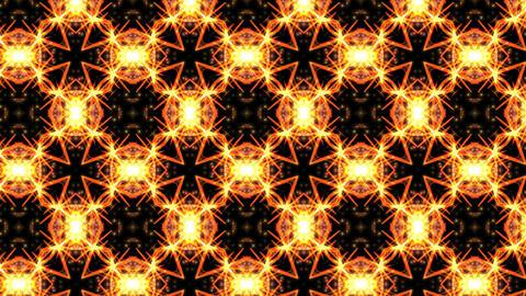 炎 アブストラクト 背景素材 VJ GIF