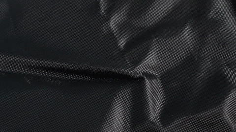 Black Nylon Fabric Background Texture, Large Detailed Textured Footage