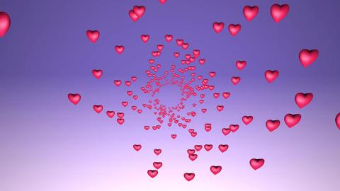 Heart valentine romance Footage